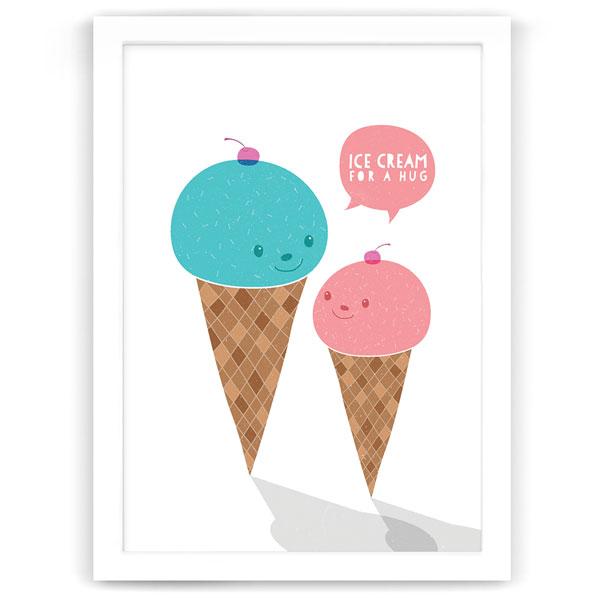 Ice cream for a hug - Hide and Peek Nursery