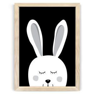 Dream Bunny Natural Wood frames