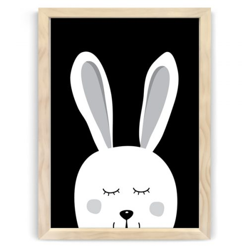 Dream Bunny Natural Wood frames