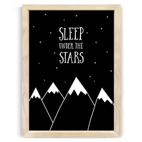 Sleep under the stars Hide and