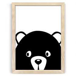 Peek a boo bear