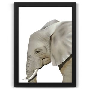 Safari animal print elephant