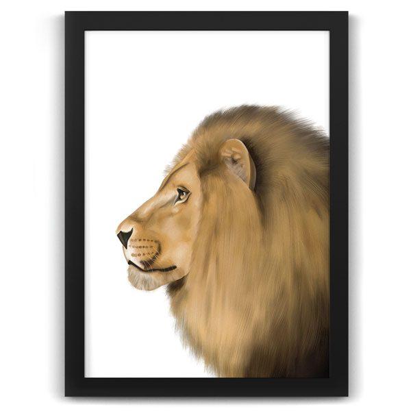 Safari Animals Lion Print