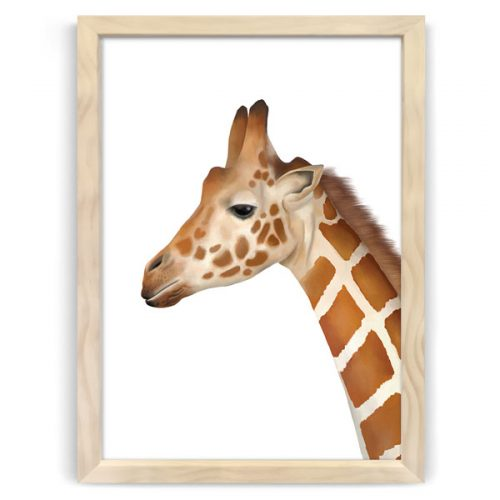 Safari animal print giraffe