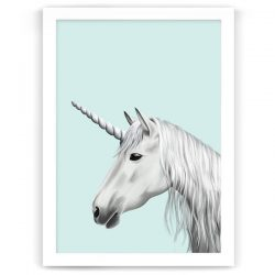 Unicorn Print Mint